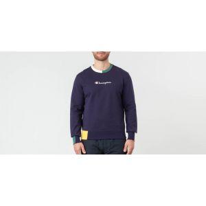 Champion Pull Homme Sweat-shirt à logo, Bleu bleu - Taille EU S,EU M,EU L,EU XL,Unique