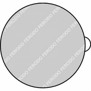 Ferodo 4 plaquettes de frein FDB197