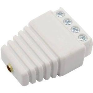 Conrad Components Fiche banane femelle avec connexions à visser Ø 3 mm 93013c1124a blanc 1 pc(s)