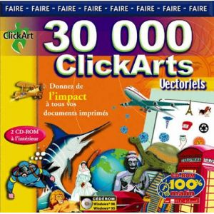 30000 cliparts vectoriels pour Windows