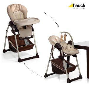 Hauck chaise haute sit 39 n relax winnie l 39 ourson ready to - Rehausseur de chaise winnie l ourson ...