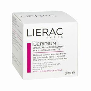 Lierac Déridium - Crème nutritive anti-vieillissement peaux normales mixtes