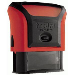 Trodat 499208 - Tampon X-Print Rappele (empreinte 42x12 mm)