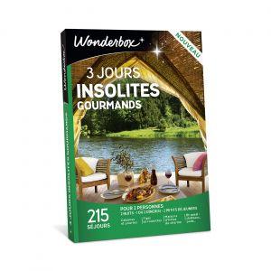 Wonderbox Coffret Cadeau 3 Jours Insolites Gourmands