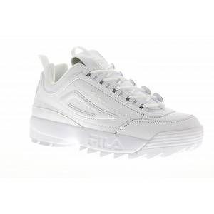 FILA Men's Disruptor 2 Premium White/White/White 9.5 M