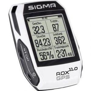 Sigma Compteur GPS Rox 11.0 HRM + Cadence - Blanc