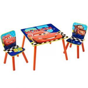 Room Studio Ensemble table et 2 chaises Disney Cars