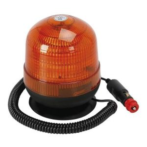 Spotlight Gyrophare gyroflash 18 LED avec support magnétique