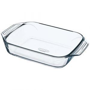 Pyrex Plat à four en verre rectangulaire 31 x 20 cm