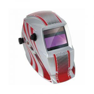 GYS Masque soudeur LCD HERMES 9/13 G (rouge)