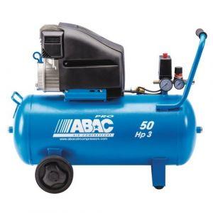 Abac Compresseur d'air à piston lubrifié 50 litres 3 CV - nteCarloL30P
