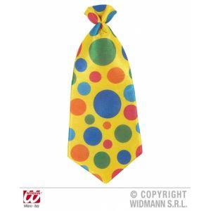 Ptit Clown RE14525 - Cravate géante de clown 50 x 20 cm