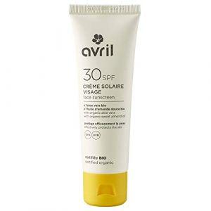 Avril Crème solaire visage SPF30