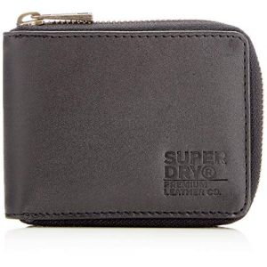 Superdry Portefeuilles Wing Zip Wallet In A Tin - Black - One Size