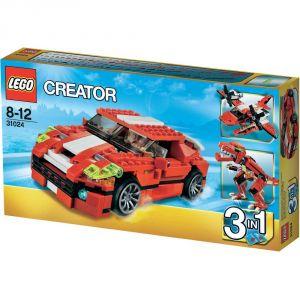 Image de Lego 31024 - Creator 3 en 1 : Le bolide rouge