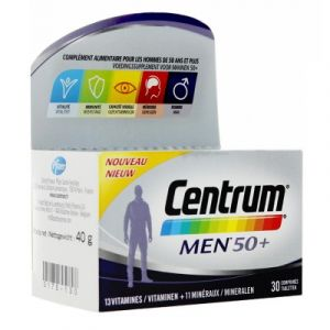 Centrum Men 50+ - 30 comprimés