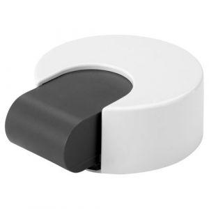 Inofix Butée de porte adhésive/vis avec amortisseur - blanc - Butée de porte