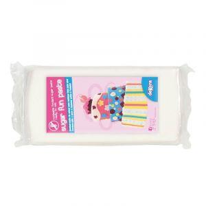 Dekora Pâte à sucre Blanche 500g