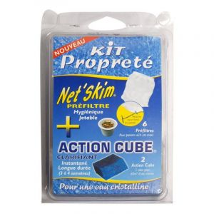 Toucan Productions Pack Net'Skim + action cube - Toucan