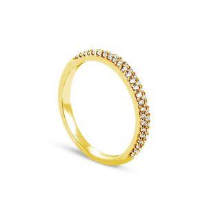Rêve de diamants 3612030091797 - Bague en or jaune sertie de diamants