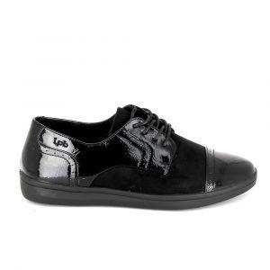 LPB Shoes Chaussures Flora Noir Noir - Taille 37,38