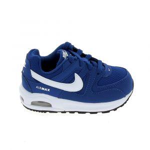 Nike Chaussures enfant Air Max Command Flex BB Bleu Blanc 844348-402 bleu - Taille 21,23 1/2
