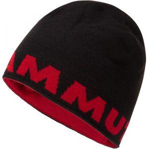 Mammut Logo Bonnet, black One Size Bonnets