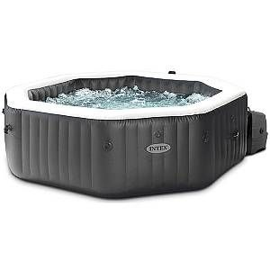 Intex Spa gonflable PureSpa Carbone 4 places