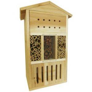 Hôtel à insectes bois