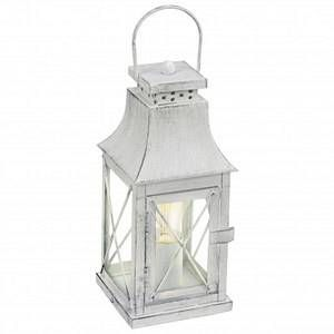 Eglo Lampe de table Lisburn gris (49294)