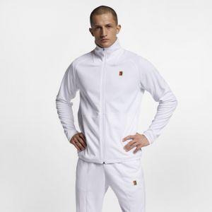 Nike Veste de tennis Court Homme - Blanc - Couleur Blanc - Taille XL