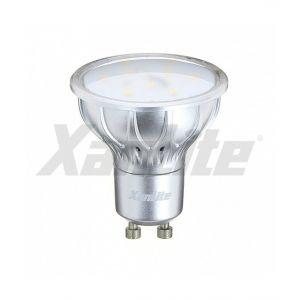 Xanlite Ampoule LED spot, culot GU10, 5,6W cons. (35W eq.), lumière blanc chaud