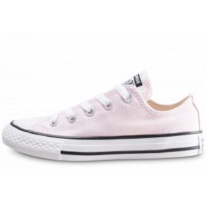 Converse Baskets basses enfant CHUCK TAYLOR ALL STAR SEASONAL OX rose - Taille 27,28,29,30,31,32,33,34,35