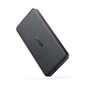 Anker PowerCore II Slim Batterie Externe 10000mAh, Power bank ultra fine avec PowerIQ pour Samsung, iPhone X / 8 / 8 Plus / 7 / 7 Plus / 6 / 6s, iPad et autres Direct FR, neuf)