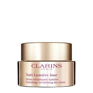 Clarins Nutri-Lumière Jour - Crème Revitalisante Lumière - Soin Anti-âge 60+ - 50 ml