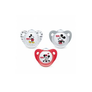 Nuk Sucette Mickey Mouse Silicone 18-36m