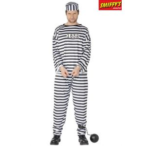 Smiffy's Convict Costume [Vêtements]
