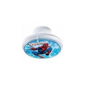 Dalber 31607 - Semi-plafonnier rond Spiderman en verre et métal