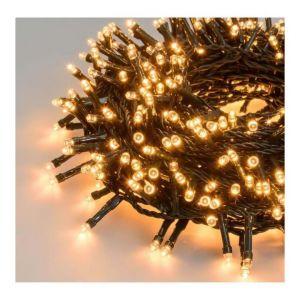 Lotti Guirlande lumineuse compacte NTL - 14,9 m - 720 LED blanc traditionnel - Longueur : 14,9 m - 720 LED - Lumière fixe + 7 jeux de lumière : blanc traditionnel - Transformateur : 24 V