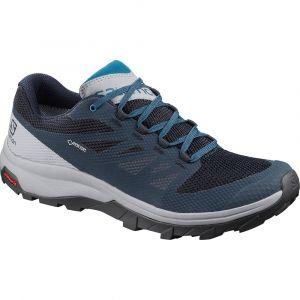 Salomon OUTline GTX Chaussures Homme, navy blazer/quarry/lyons blue UK 9,5 | EU 44 Chaussures trekking & randonnée