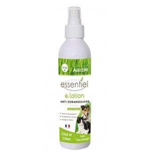 Agecom Lotion anti démangeaison chien et chat 125 ml