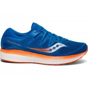 Saucony Chaussures de running triumph iso 5 bleu orange 44
