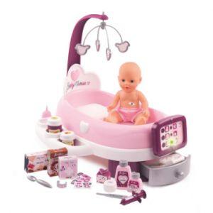 Image de Smoby Baby Nurse Nursery Electronique + Poupon Pipi - 24 Accessoires