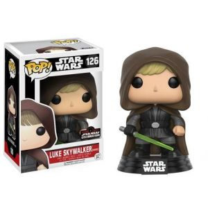 Funko Figurine Pop! Star Wars : Hooded Luke Skywalker Galactic Convention 2017