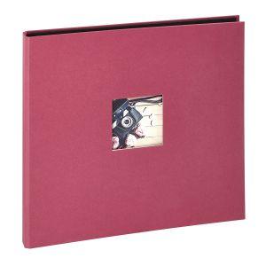 Panodia Studio Album 300 Vues 60 Pages Traditionnel, Papier, Framboise, 2,7 x 34,7 x 32,5 cm