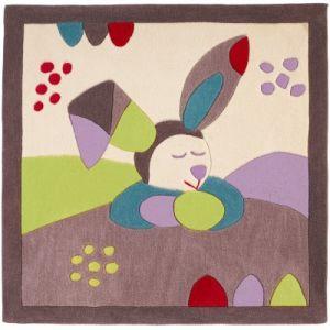 Sauthon Tapis carré Tinoo (110 x 110 cm)