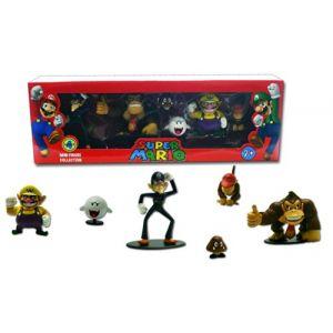 Abysse Corp 6 figurines Super Mario Bross Série 4 de collection