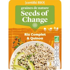 Seeds of Change Riz complet Quinoa