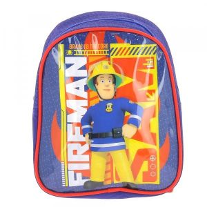 ATM Dessins animes Sac à dos Sam le Pompier Bleu