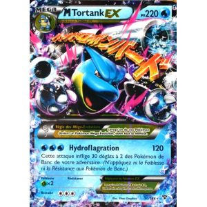 Asmodée Tortank-Ex - Carte Pokémon 30/146 Méga 220 Pv Xy